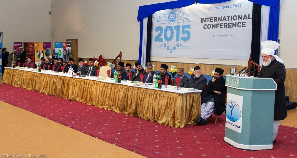 Head of Ahmadiyya Muslim Community addresses Humanity First International Conference