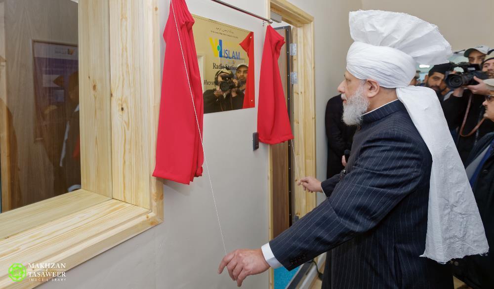 Head of Ahmadiyya Muslim Community launches 'Voice of Islam' radio to spread the peaceful teachings of Islam