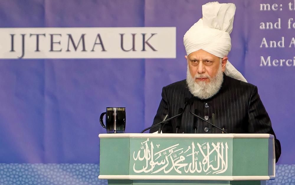 Head of Ahmadiyya Muslim Community addresses female Muslim youth event (Waqf-e-Nau Ijtema) in London
