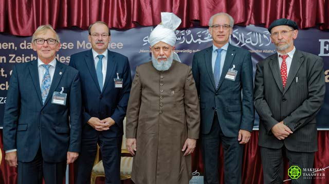 New Ahmadiyya Mosque opened in Iserlohn, Germany by Head of Ahmadiyya Muslim Community