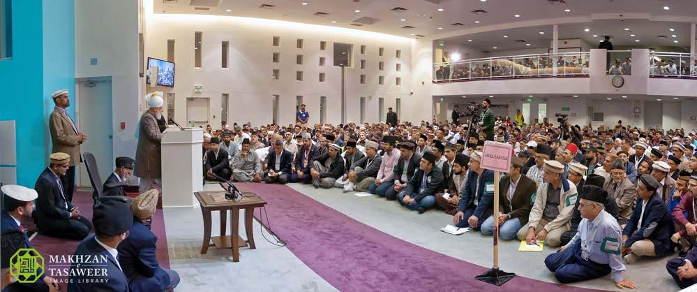 Head of Ahmadiyya Muslim Community addresses volunteers of 40th Jalsa Salana Canada