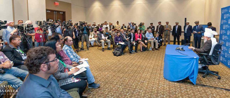 """One day we will win the hearts of people"" – Head of Ahmadiyya Muslim Community"