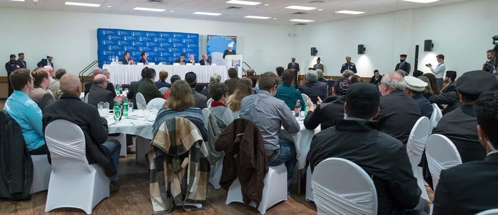 """No need to fear true Mosques"" – Head of Ahmadiyya Muslim Community"