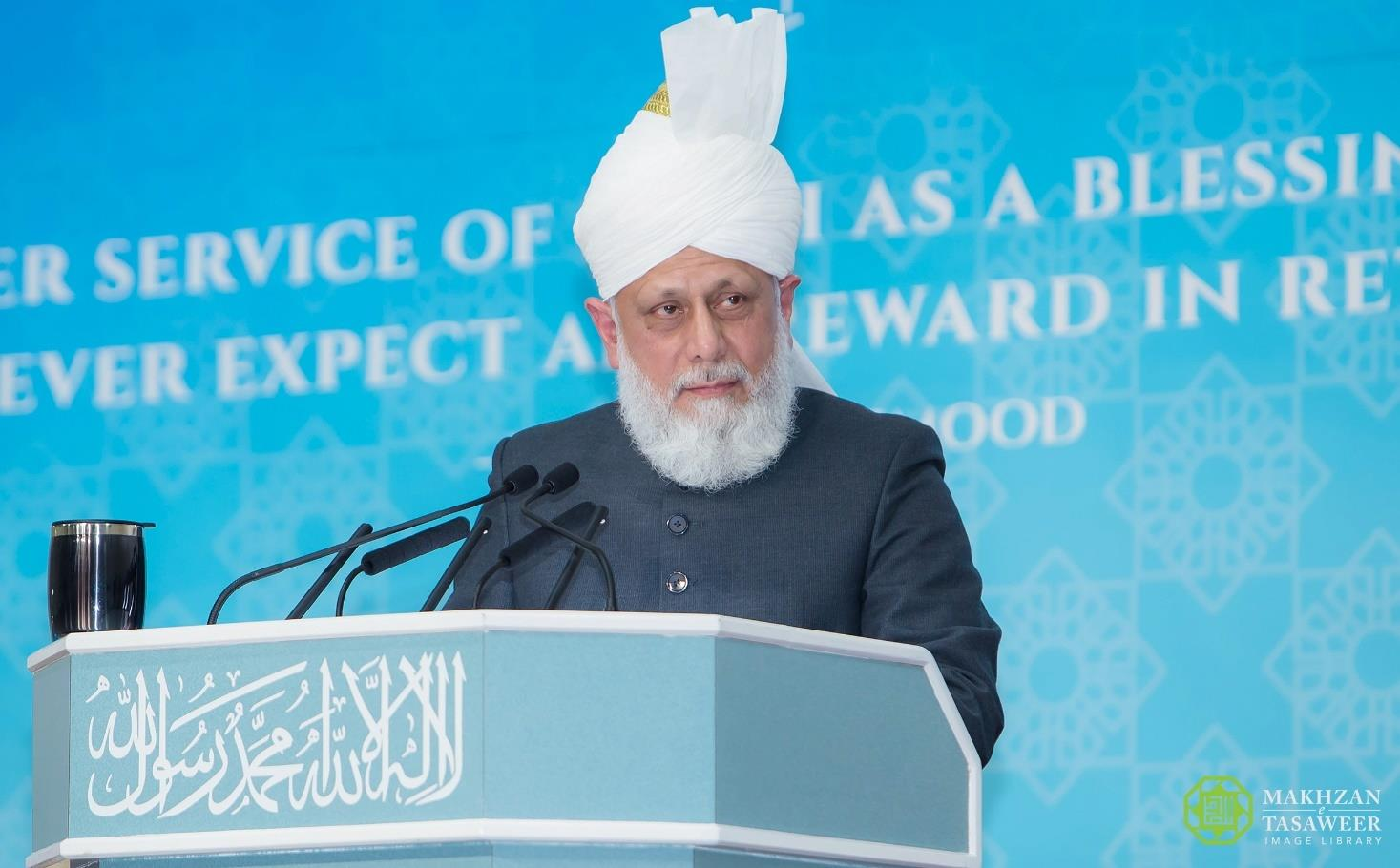 Head of Ahmadiyya Muslim Community addresses National Refresher Course for Office Bearers of Lajna Imaillah UK