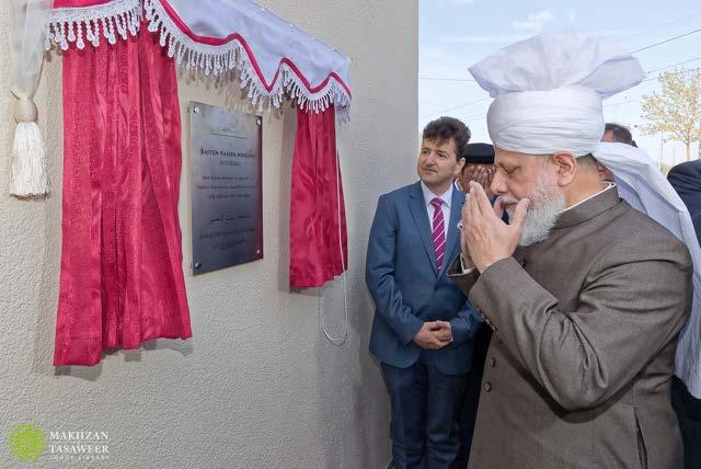 New Ahmadiyya Mosque Opened in Augsburg by Head of Ahmadiyya Muslim Community