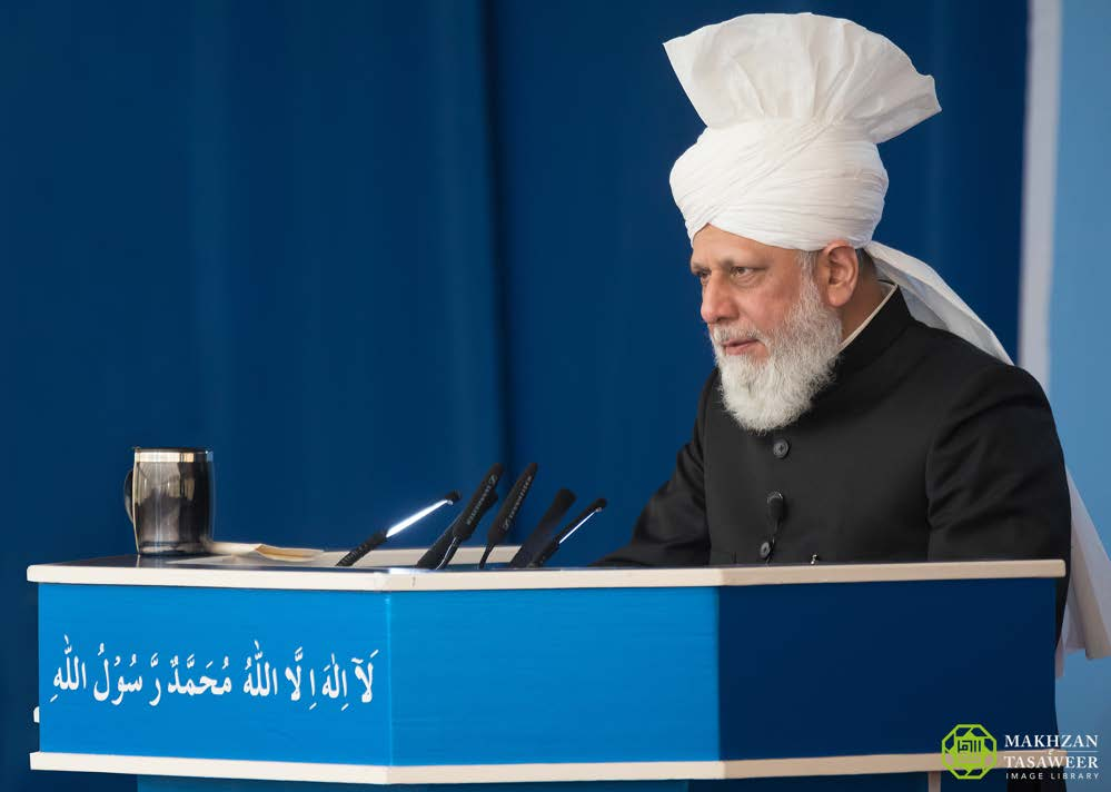 Head of Ahmadiyya Muslim Community delivers Friday Sermon in