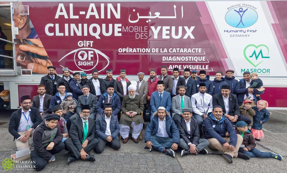 Al-Ain Mobile Eye Clinic inaugurated by Head of Ahmadiyya Muslim Community