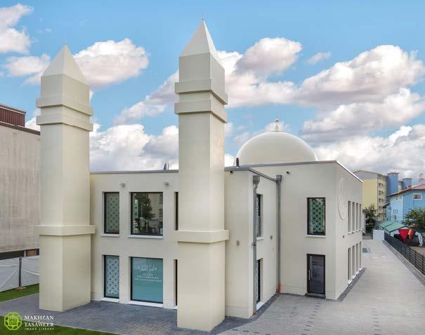 New Ahmadiyya Mosque opened in Giessen by Head of Ahmadiyya Muslim Community