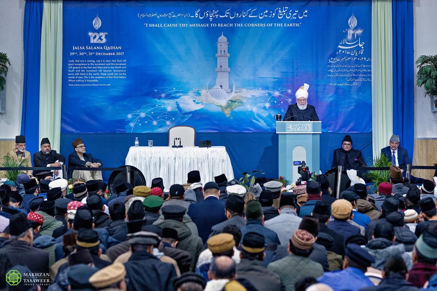 123rd Jalsa Salana Qadian concludes with address by Head of the Ahmadiyya Muslim Community