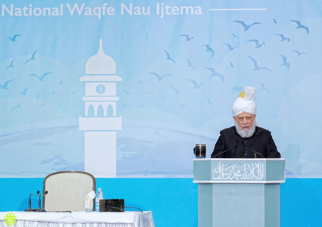 Head of Ahmadiyya Muslim Community addresses Female Muslim Youth Event (Waqfat-e-Nau Ijtema) in London