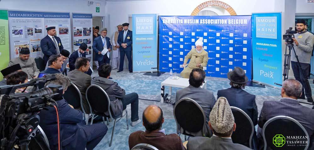 Head of Ahmadiyya Muslim Community addresses Ladies Session at Jalsa Salana Belgium