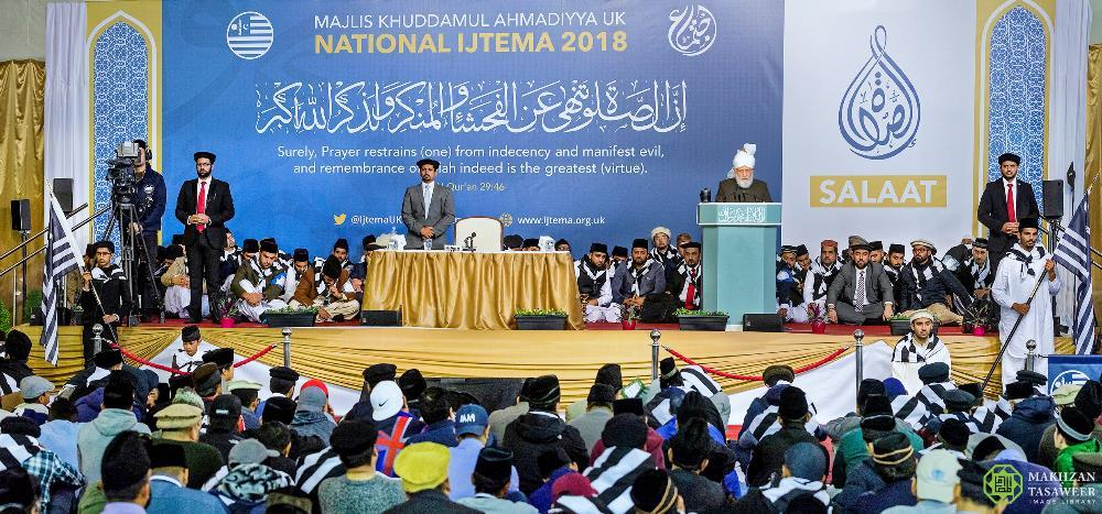 Head of Ahmadiyya Muslim Community concludes Majlis Khuddamul Ahmadiyya Ijtema with faith-inspiring address