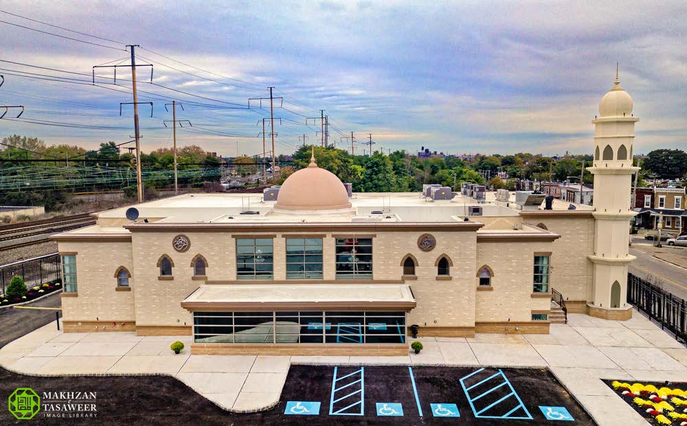 Head of Ahmadiyya Muslim Community opens first purpose-built Mosque in Philadelphia