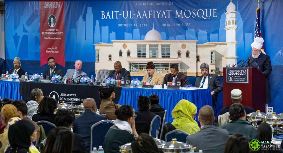 Reception held to mark Inauguration of Baitul Aafiyat Mosque in Philadelphia